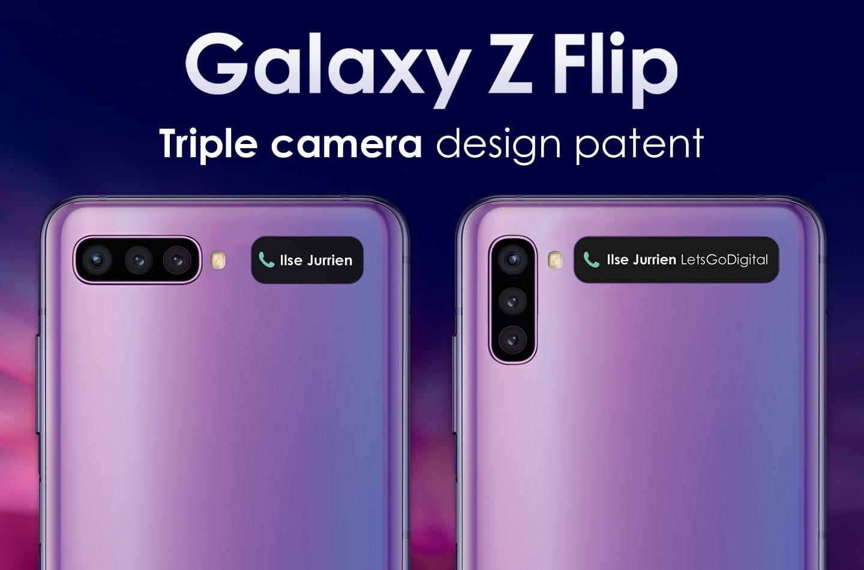 Samsung al lavoro su una revisione di Galaxy Z Flip dotata di tripla fotocamera posteriore? (foto)