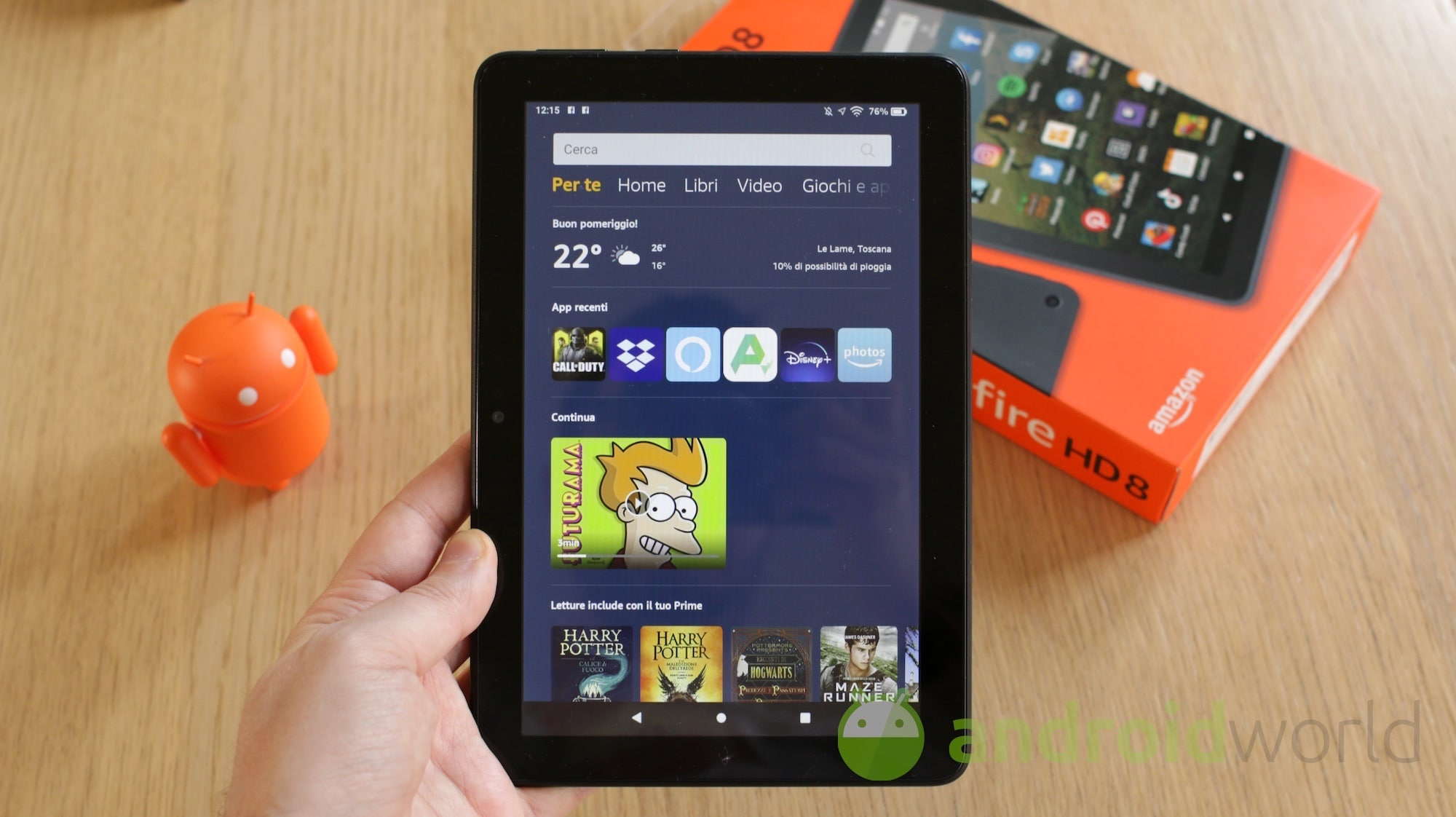 Amazon fire toolbox