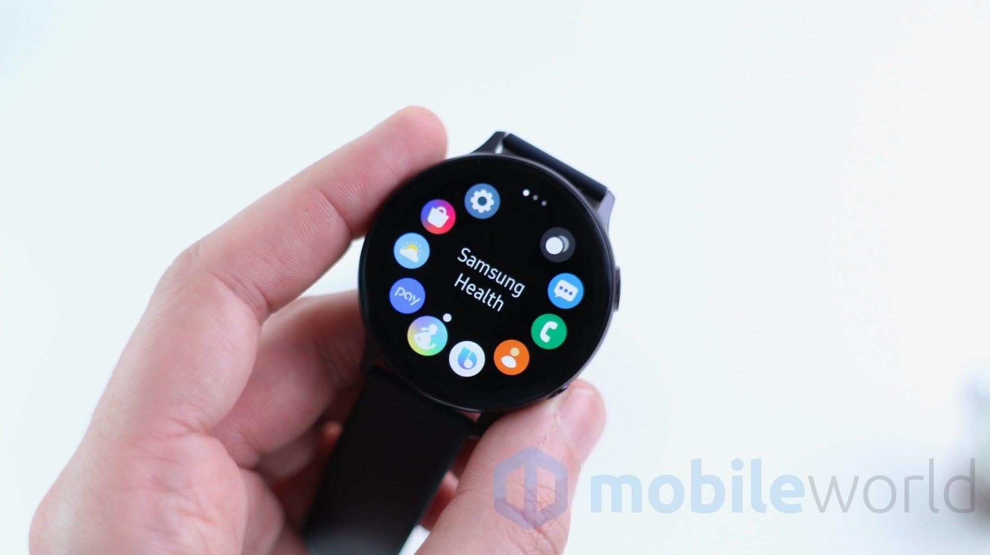 Samsung Health sta per dire addio al monitoraggio del peso, caffeina e cibo consumato