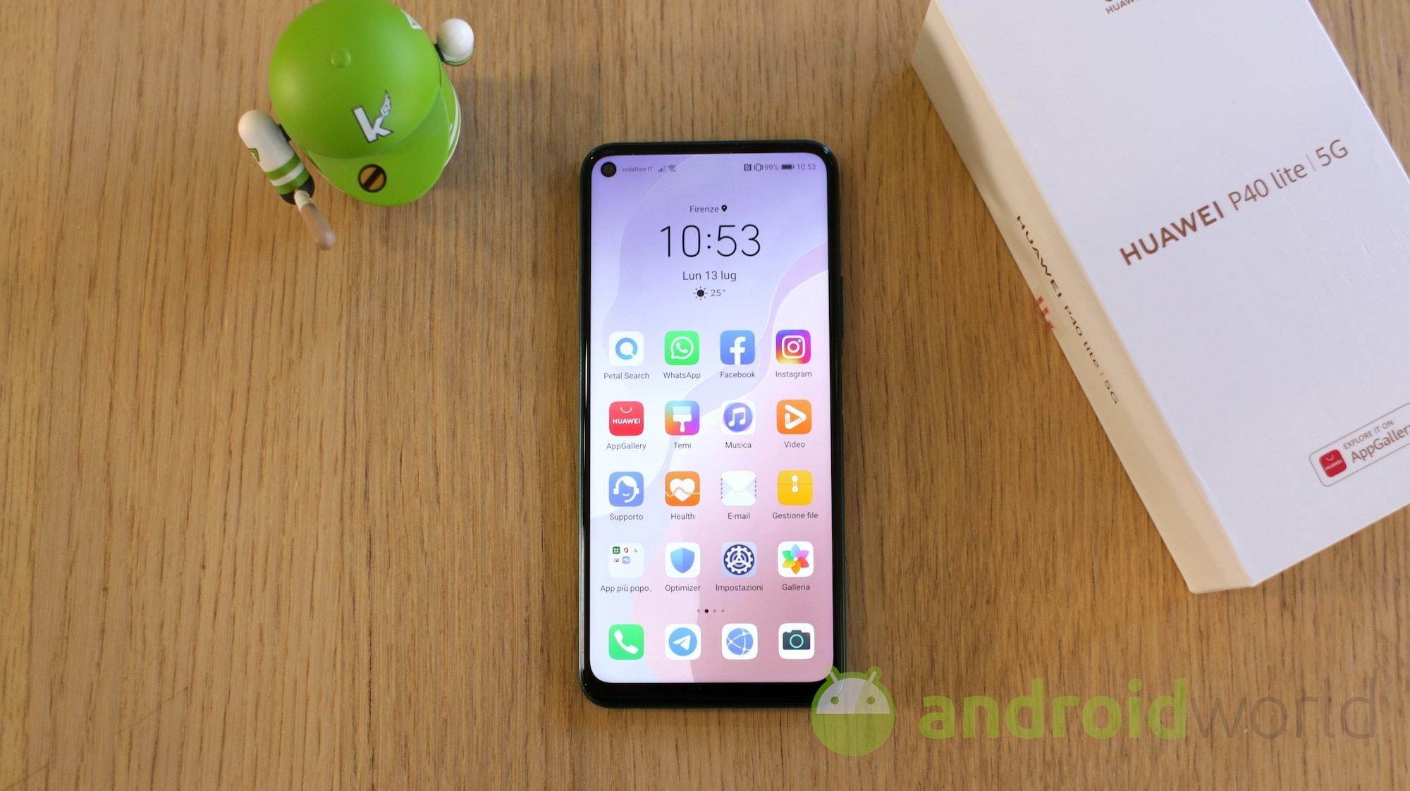 Huawei P40 Lite si aggiorna ufficialmente con le patch di ottobre (foto)