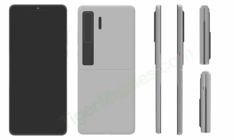 Huawei pensa al suo Galaxy Z Flip: ecco come potrebbe essere (foto)