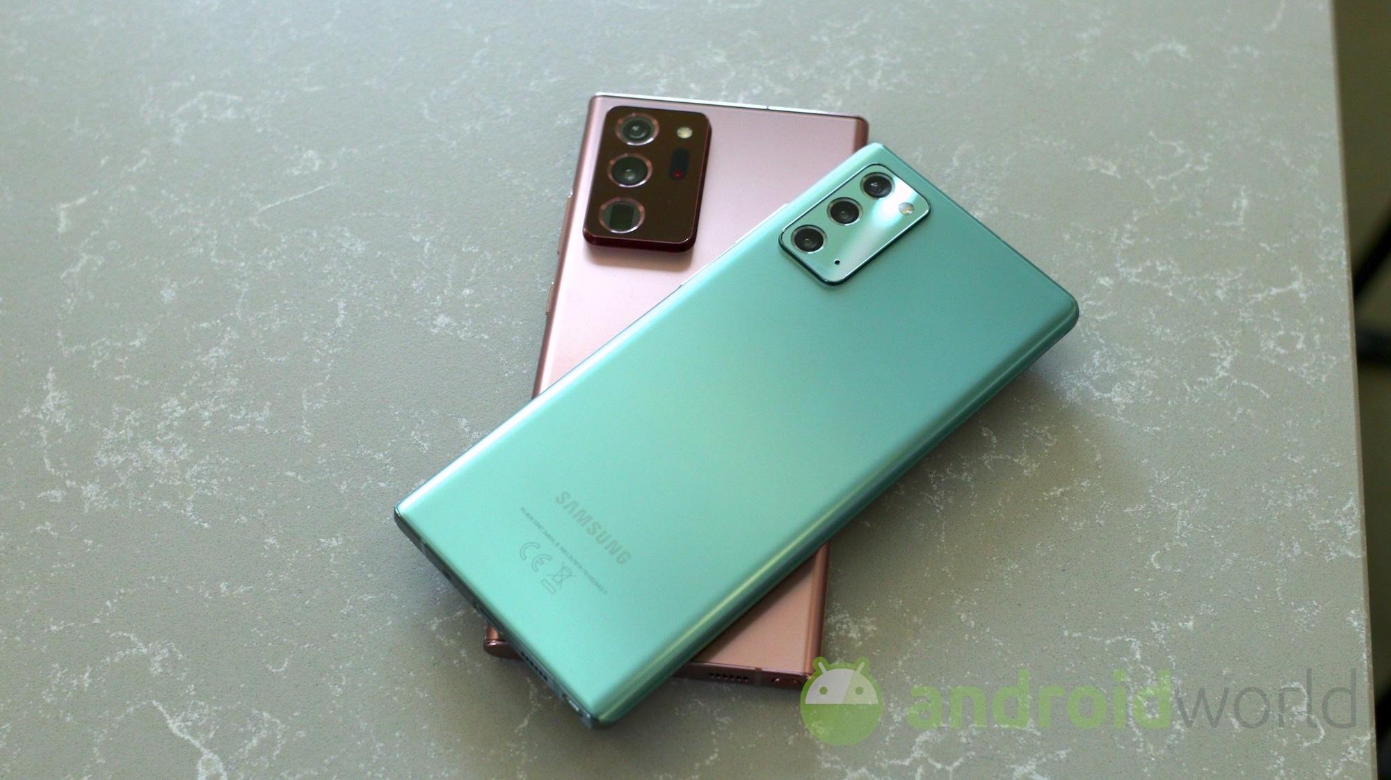 Samsung Galaxy Note 20 in sconto su Amazon: tutti i colori ai migliori prezzi!