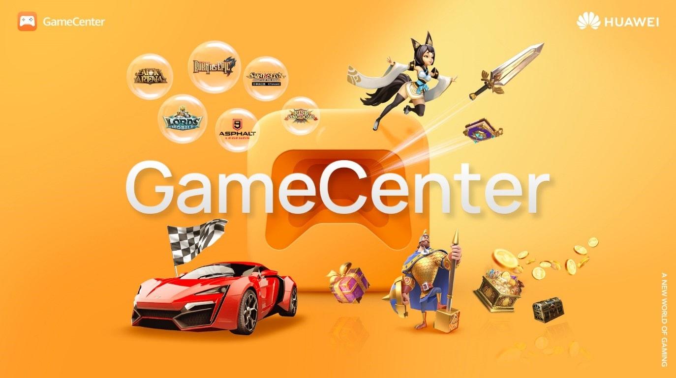 Anche Huawei lancia una piattaforma di gaming online: ecco Huawei GameCenter (foto)