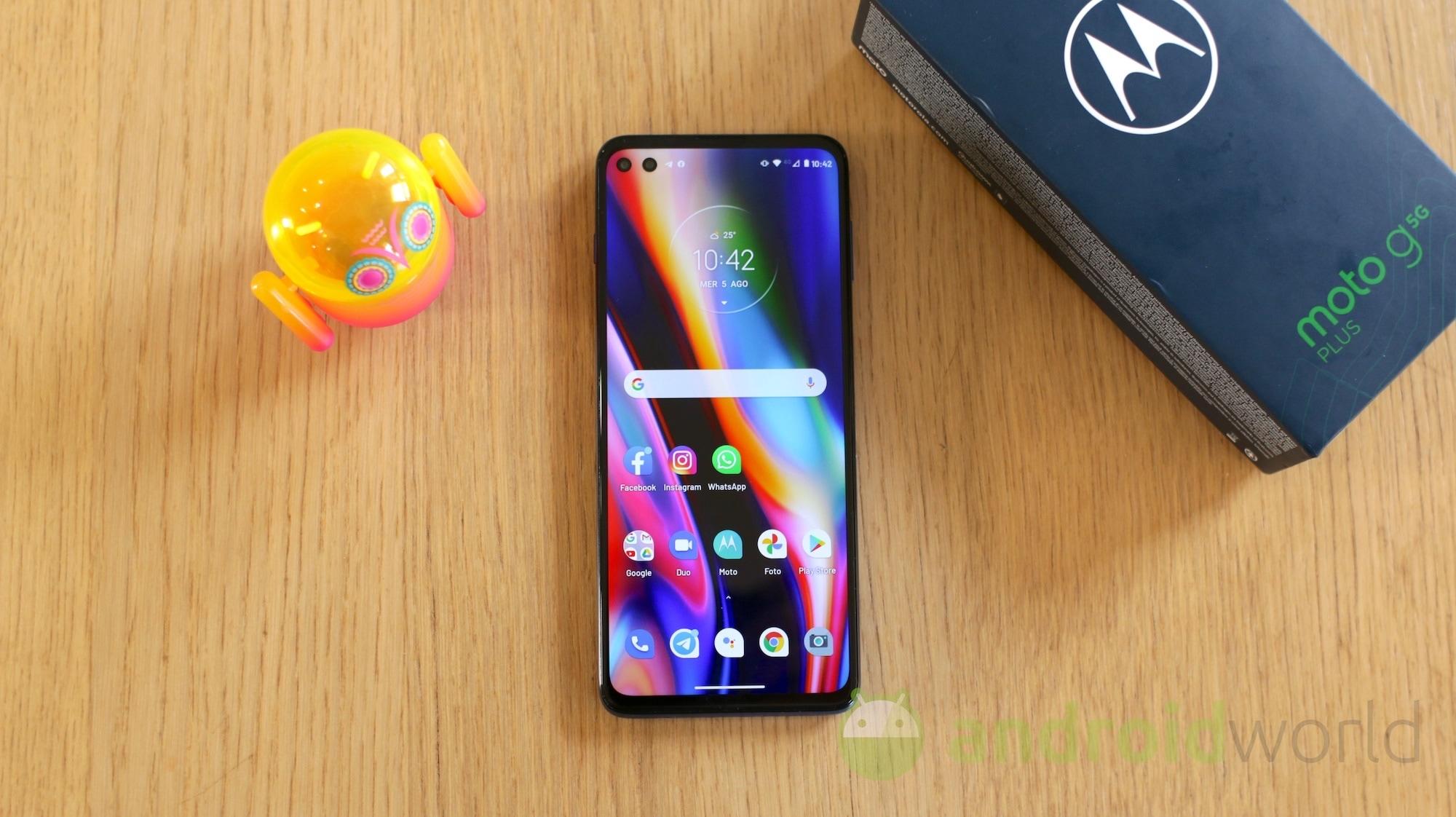 Solo 217€ per Motorola Moto G 5G Plus in super SCONTO su Amazon