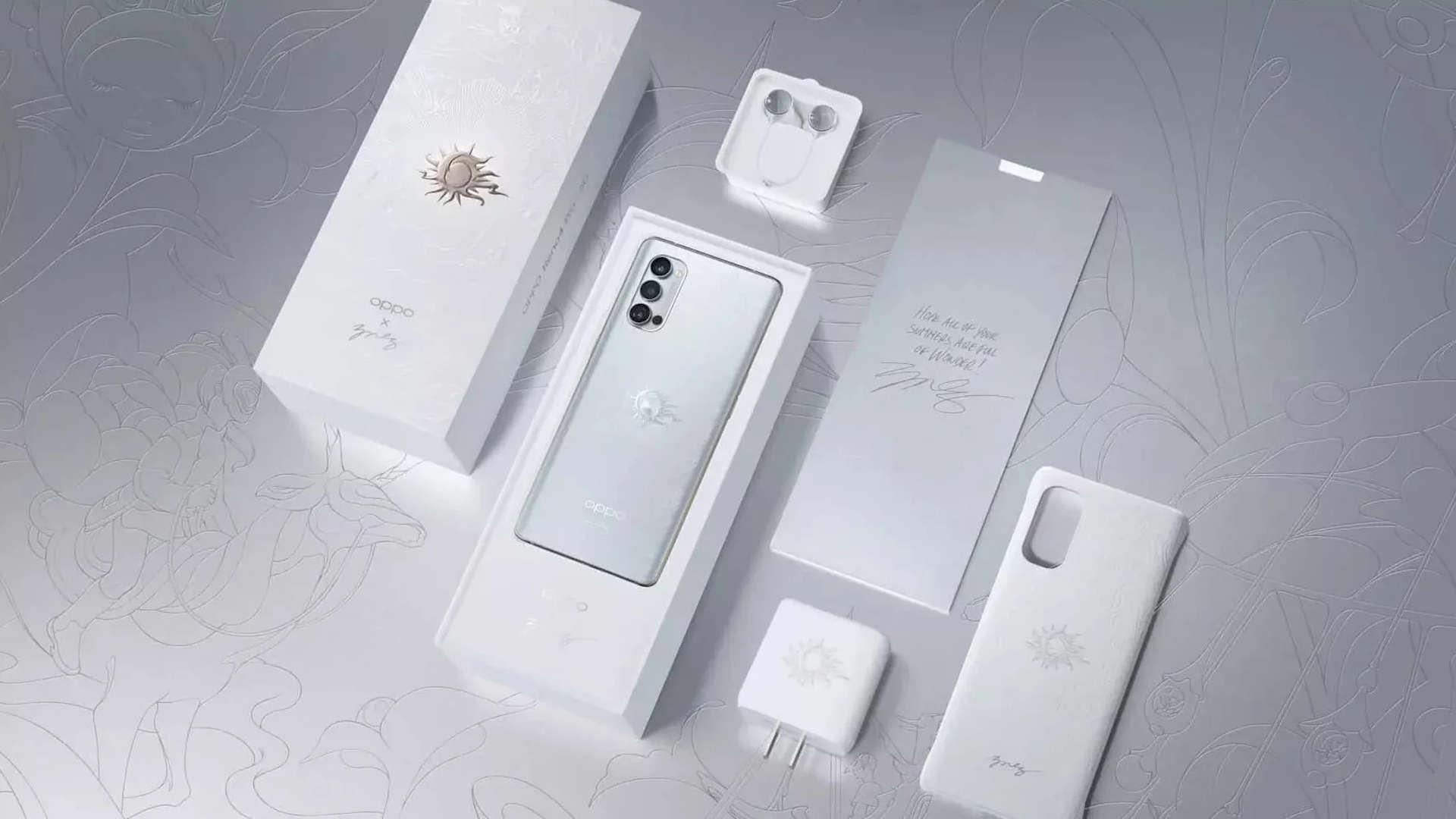 L'arte diventa uno smartphone: OPPO presenta Oppo Reno 4 Pro Artist Limited Edition (foto)