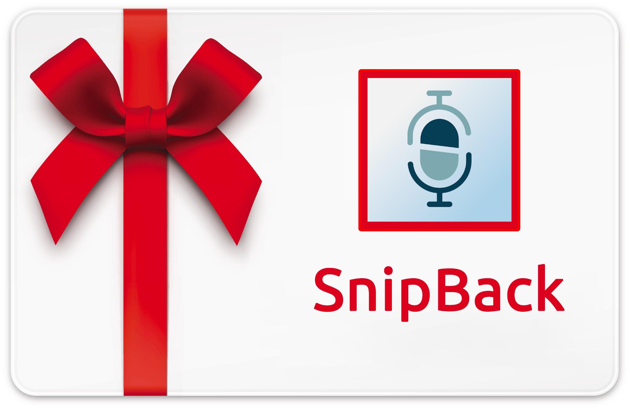 SnipBack gratis: 10 codici promo per questo registratore smart