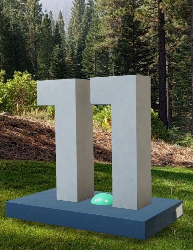 Anche Android 11 ha la sua statua a Mountain View, anzi ovunque grazie alla realtà aumentata!
