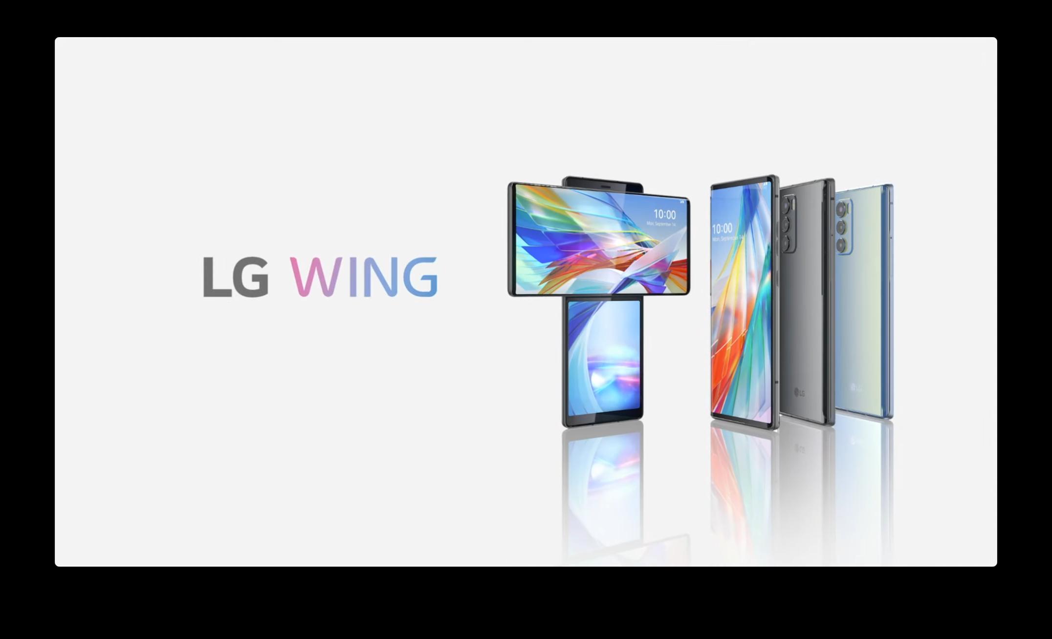 LG Wing ufficiale: altro che