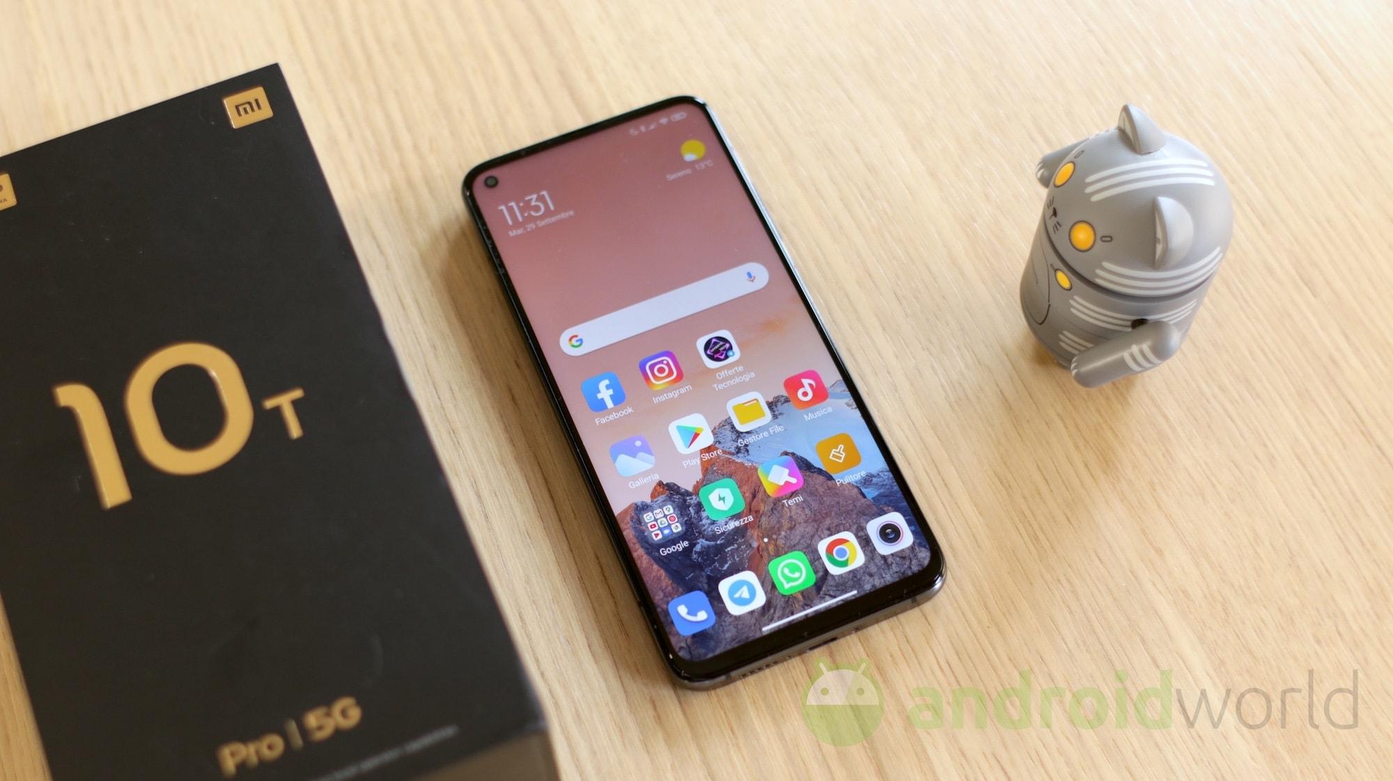 Xiaomi Mi 10T e Mi 10T Pro stanno ricevendo l'aggiornamento alla MIUI 12.5, oltre un mese dopo il gemello cinese