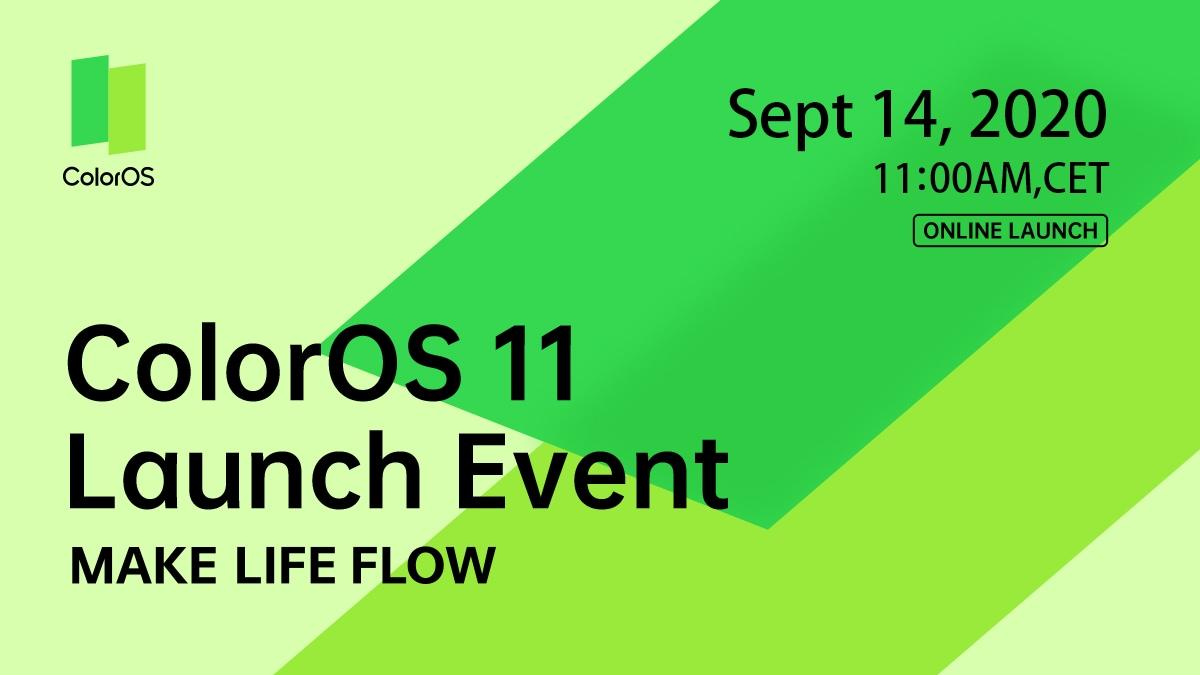OPPO svelerà tutti i segreti della ColorOS 11 basata su Android 11, il prossimo 14 settembre