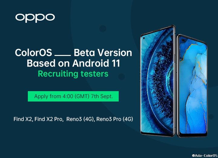 Android 11 per OPPO Find X2 / X2 Pro e Reno3 / 3 Pro: tra poco parte il programma di beta testing (foto)