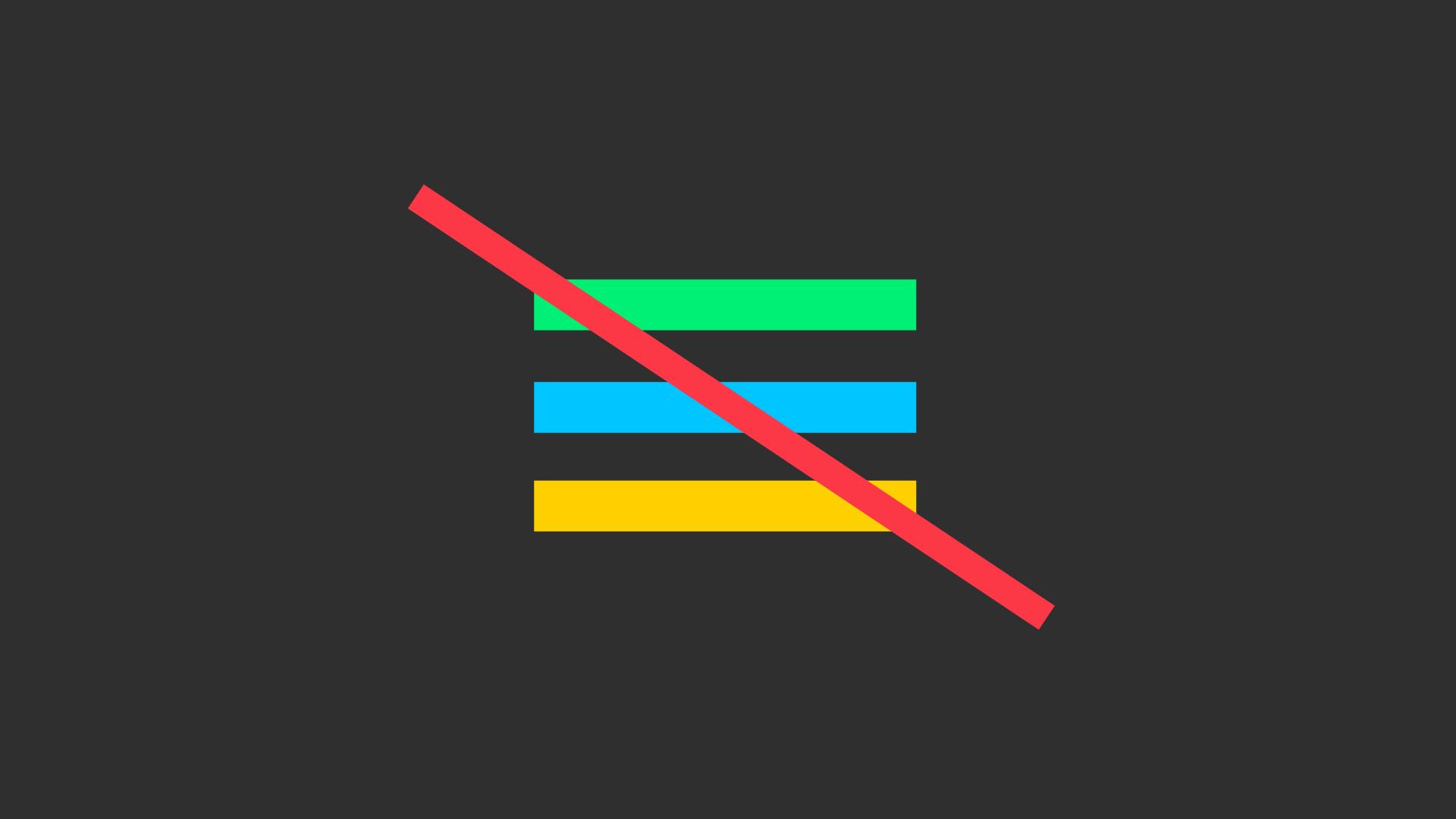 Google Play Store elimina il menu hamburger dall'interfaccia utente (foto)