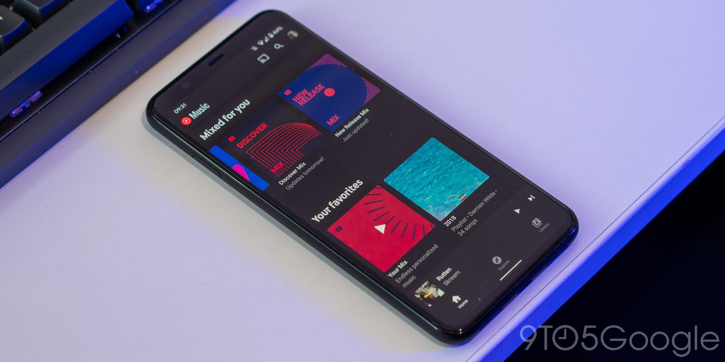 YouTube Music: le playlist personali ora possono essere riprodotte con Google Assistant su Android