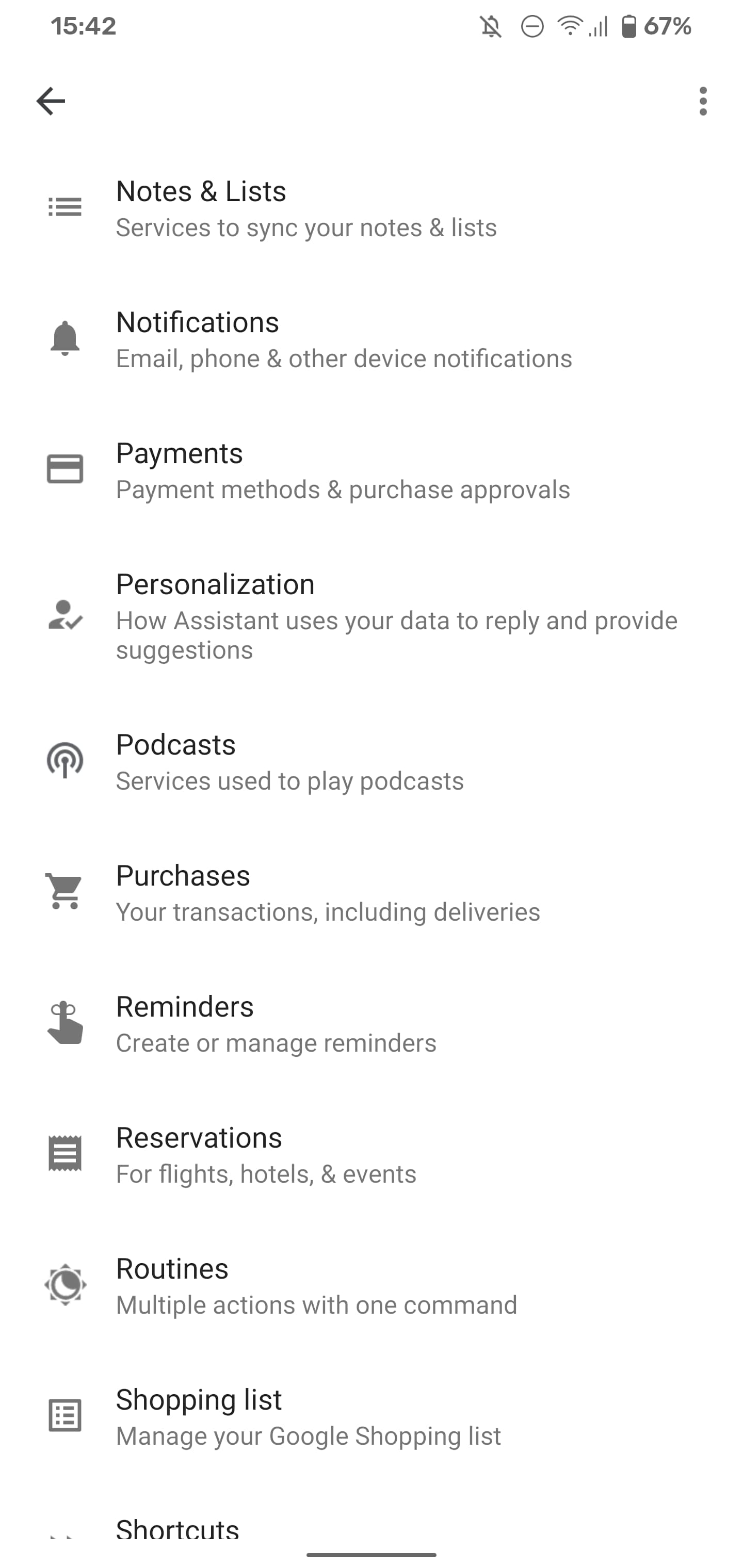 google-assistant-settings-podcasts-1
