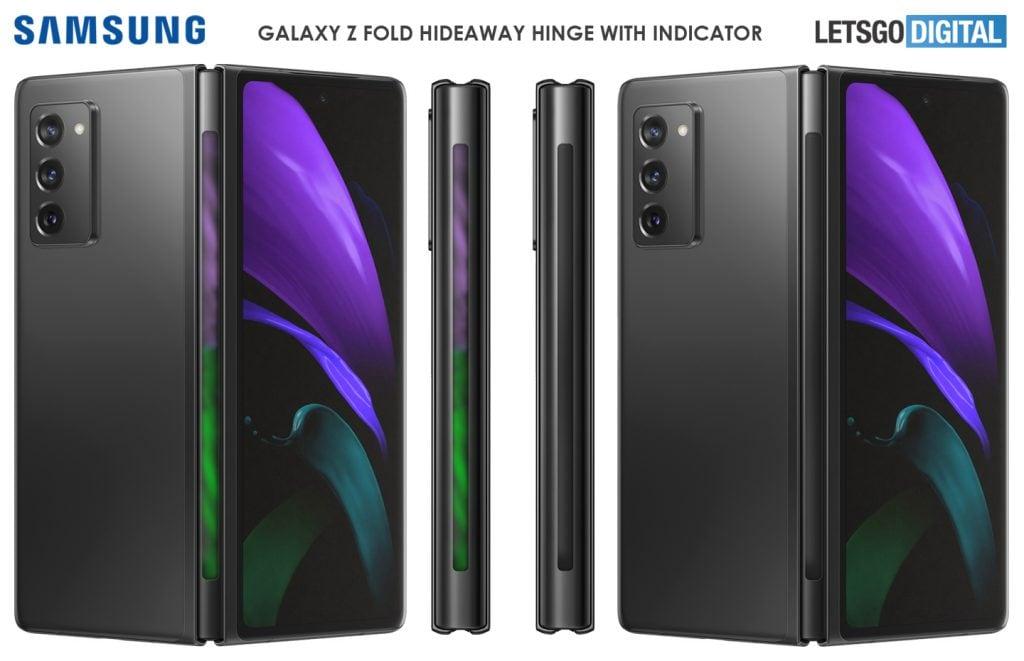 Il futuro Samsung Galaxy Z Fold 3 potrebbe avere la cerniera più smart di sempre (foto)