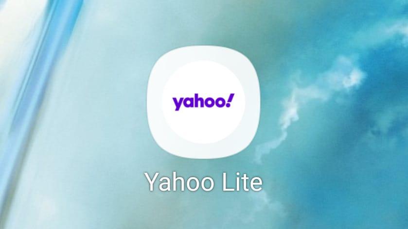 Yahoo in version Lite arriva ufficialmente sul Play Store (foto e download apk)