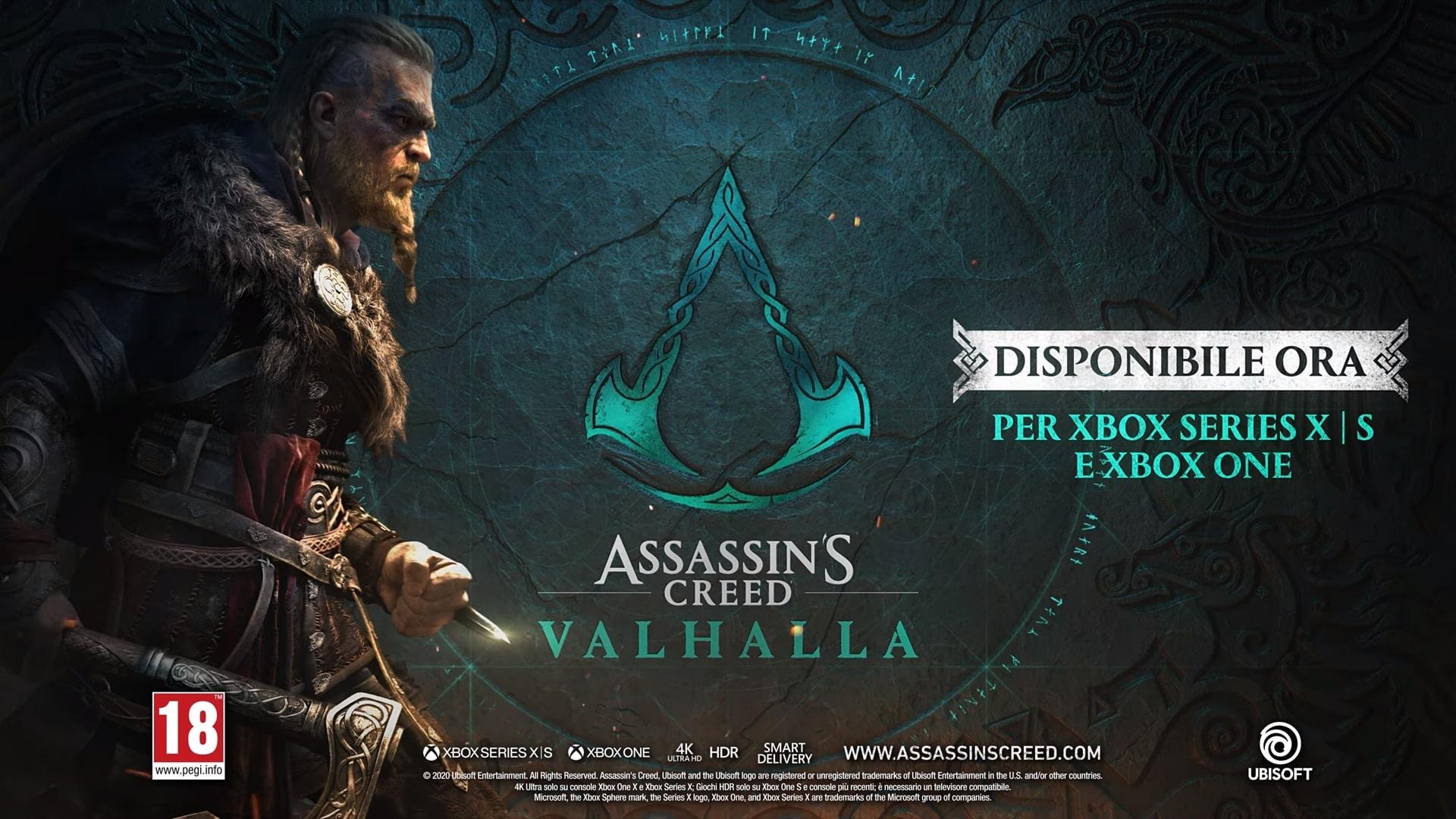 Pronti a scatenare il vichingo che è in voi? Assassin's Creed Valhalla è arrivato! (video)