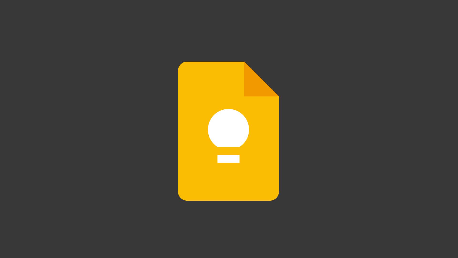 Un tocco di vivacità per Google Keep co …