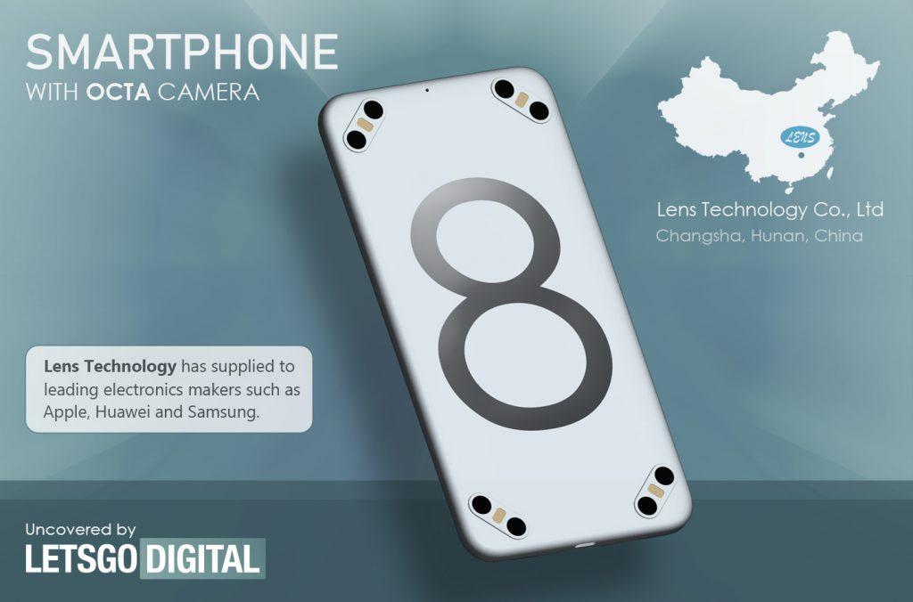 Se gli smartphone penta-camera non hanno fatto breccia nel vostro cuore, che ne dite di un octa-camera? (foto)
