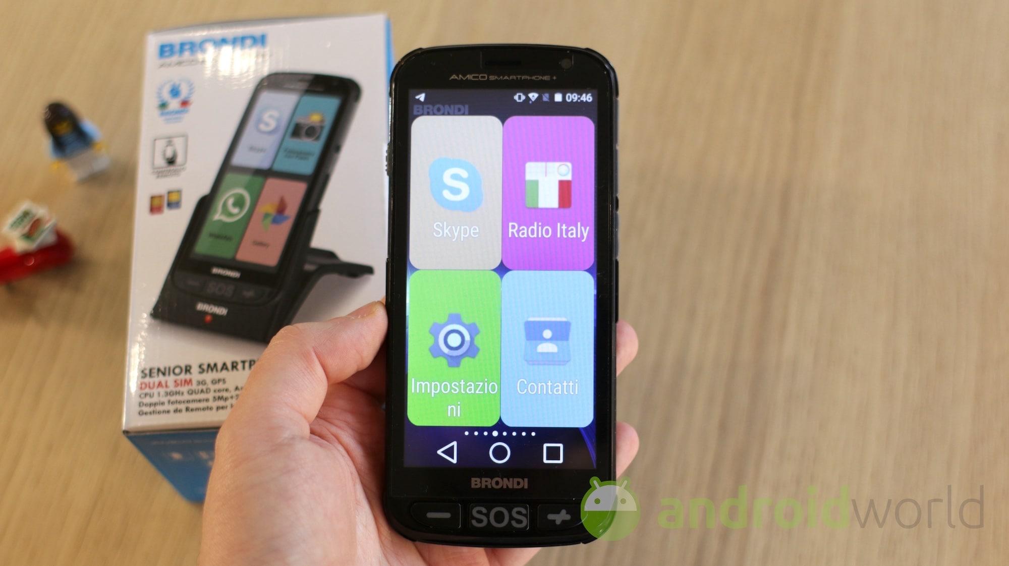 Brondi Smartphone+