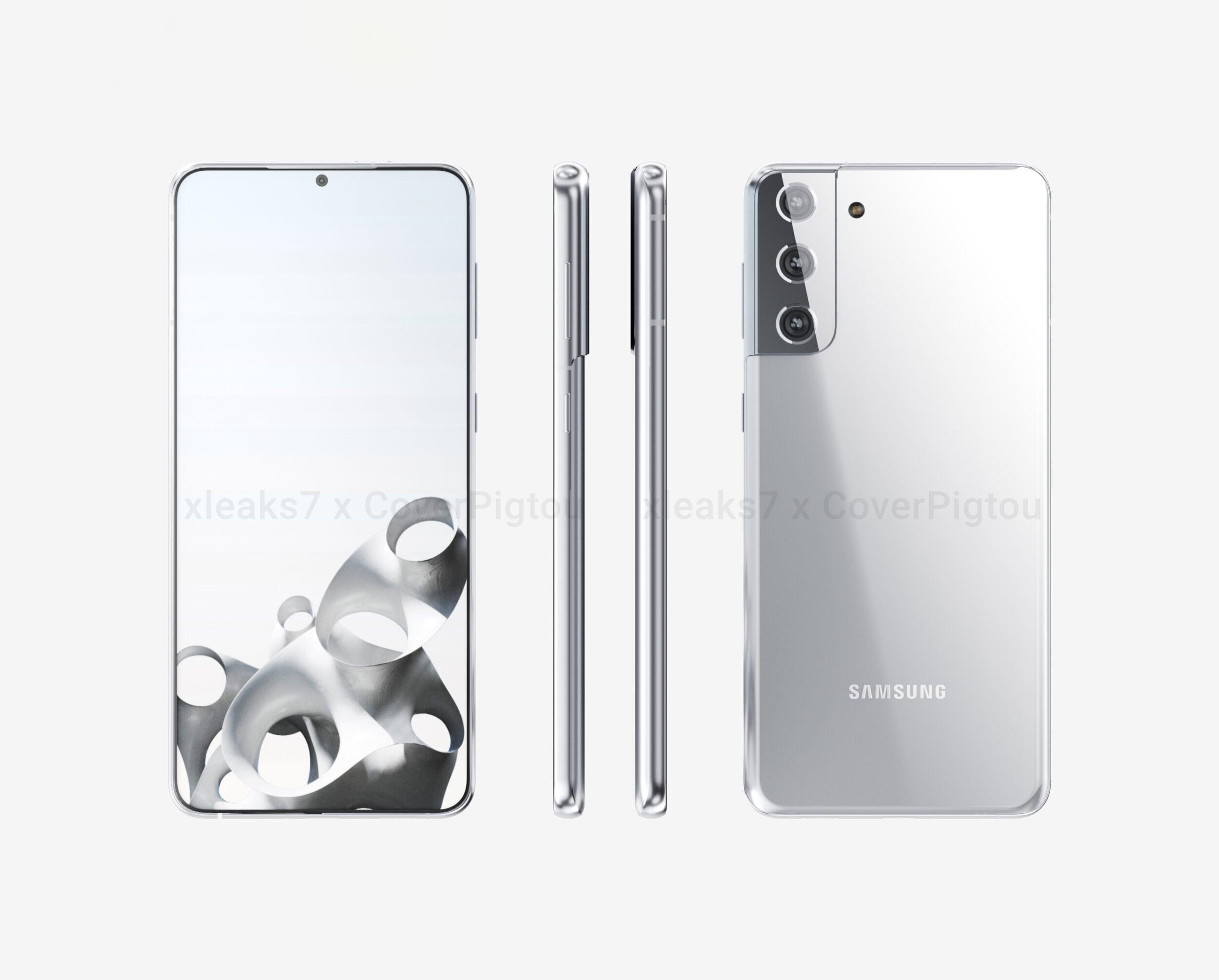 Il design della famiglia Galaxy S21 non ha più segreti, gli ultimi rumor sui prezzi vi piaceranno (foto)