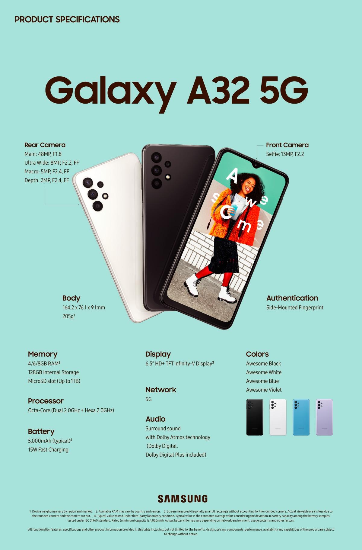 galaxy a32 5g 2