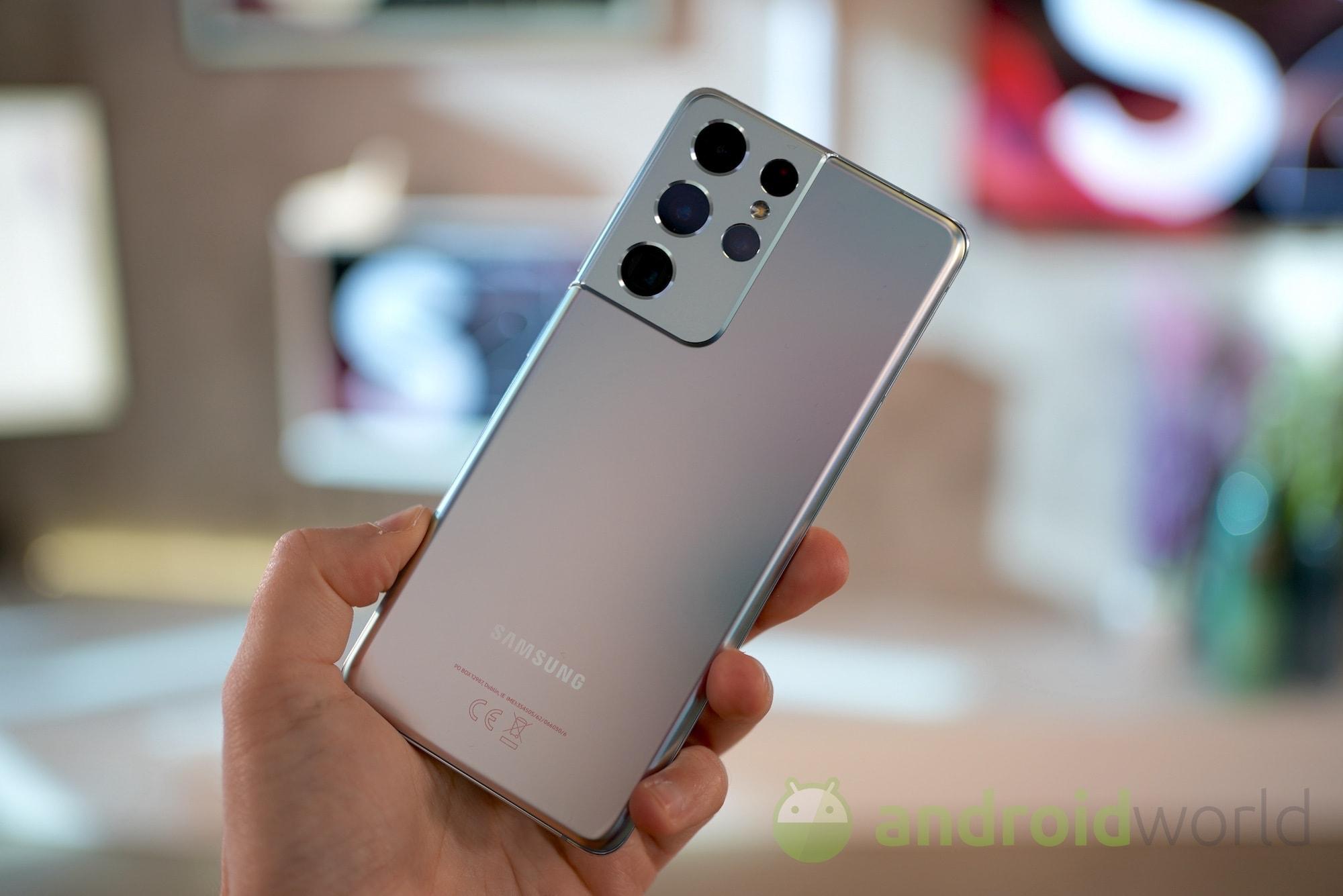 Galaxy S21 Ultra riceve uno degli aggiornamenti più veloci della storia: nuove patch e ottimizzazioni (foto)
