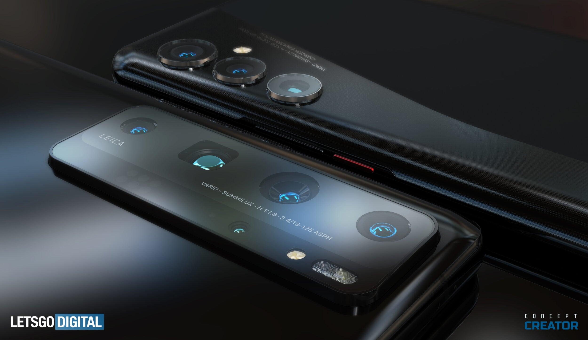 Come potrebbero essere Huawei P50 e P50 Pro: la fotocamera sarà sempre il fulcro, ma potrebbe esserci una sorpresa (foto)