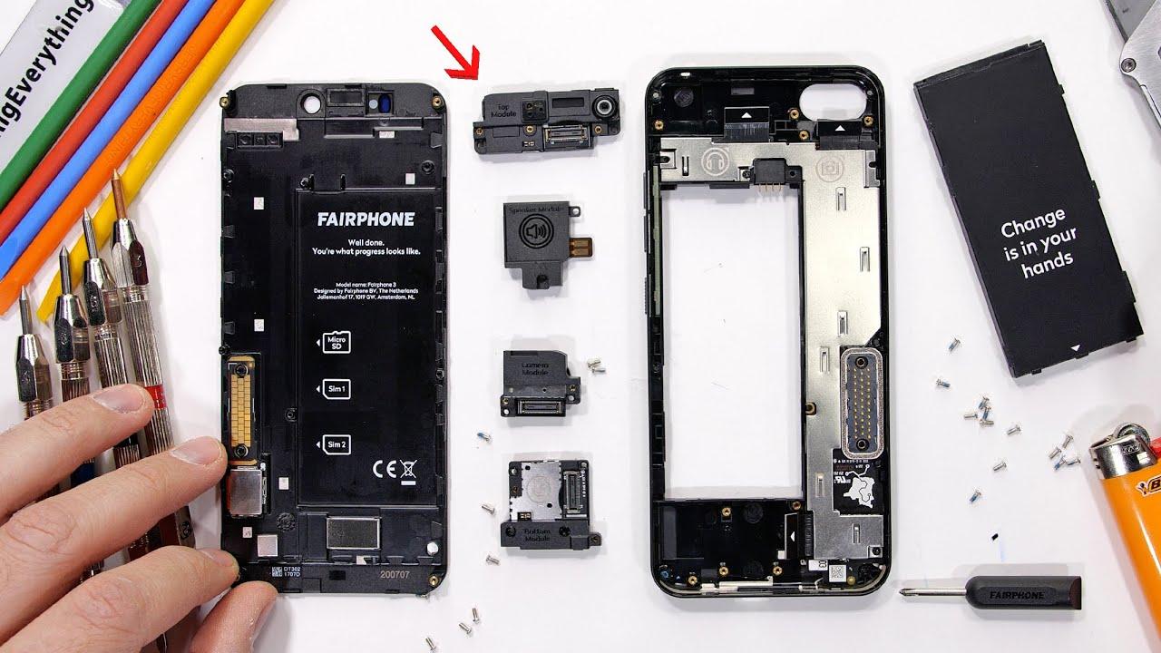 Fairphone 3+: i moduli sono facilmente sostituibili, ma... sono anche resistenti? (video)