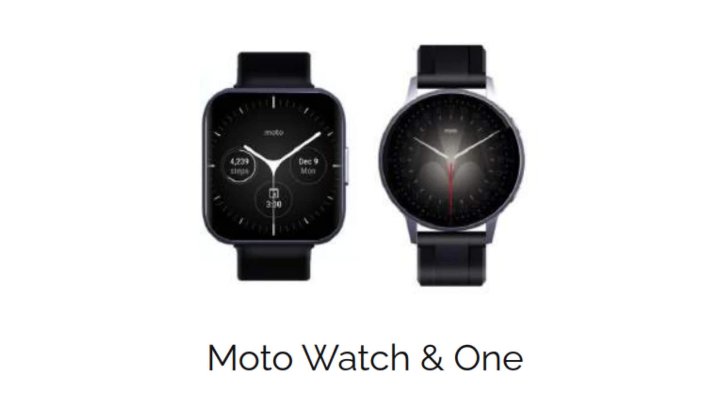 Motorola è pronta a lanciare ben tre nuovi modelli di smartwatch (foto)