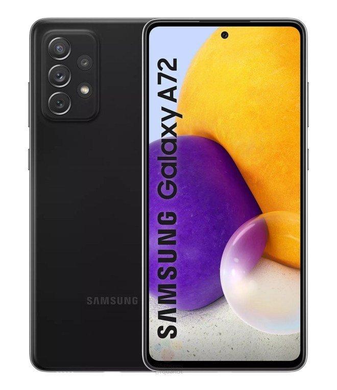 Samsung è pronta al lancio di Galaxy A72, ecco come sarà (foto)
