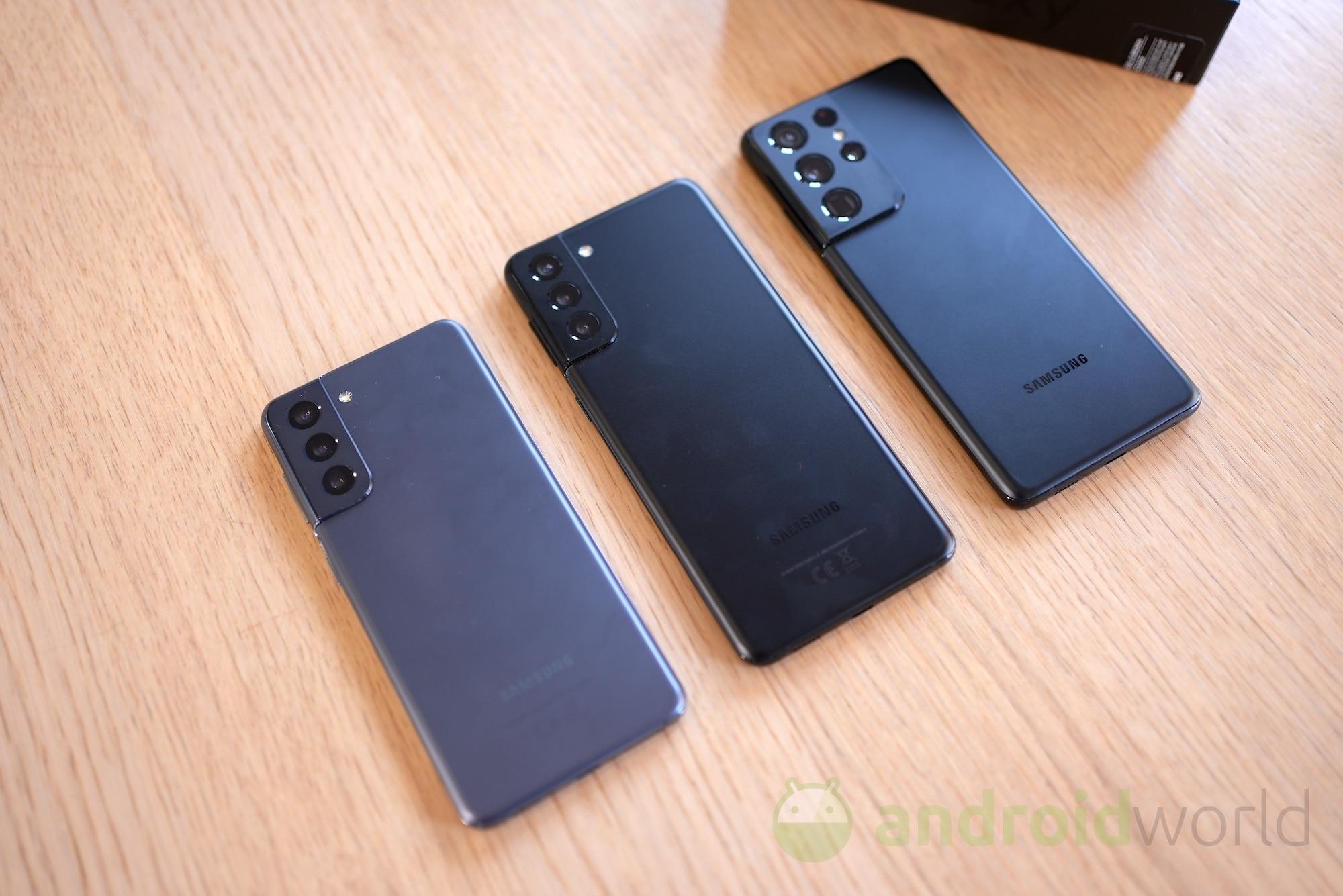 La serie Samsung Galaxy S21 è pronta a ricevere la patch di sicurezza giugno 2021