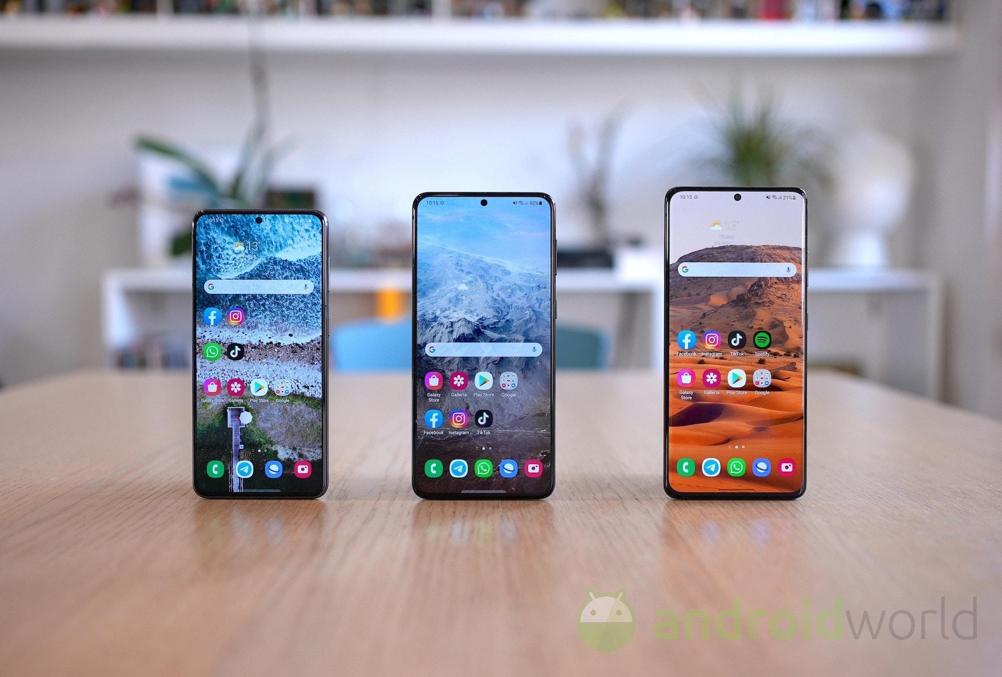 La One UI 3.1.1 per la famiglia Galaxy S …