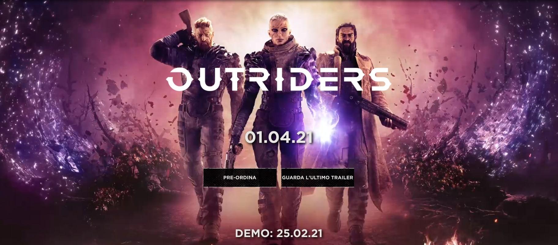 La demo di Outriders è disponibile per tutti da domani! Ecco perché vale la pena provarla (video)