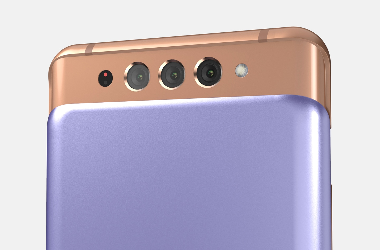 Samsung non lascia lo slider ma lo raddoppia: come potrebbe essere Galaxy A82 (foto)