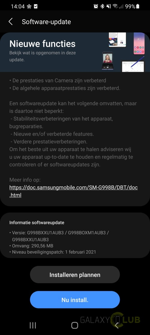 samsung-galaxy-s21-ultra-update-februari-2021