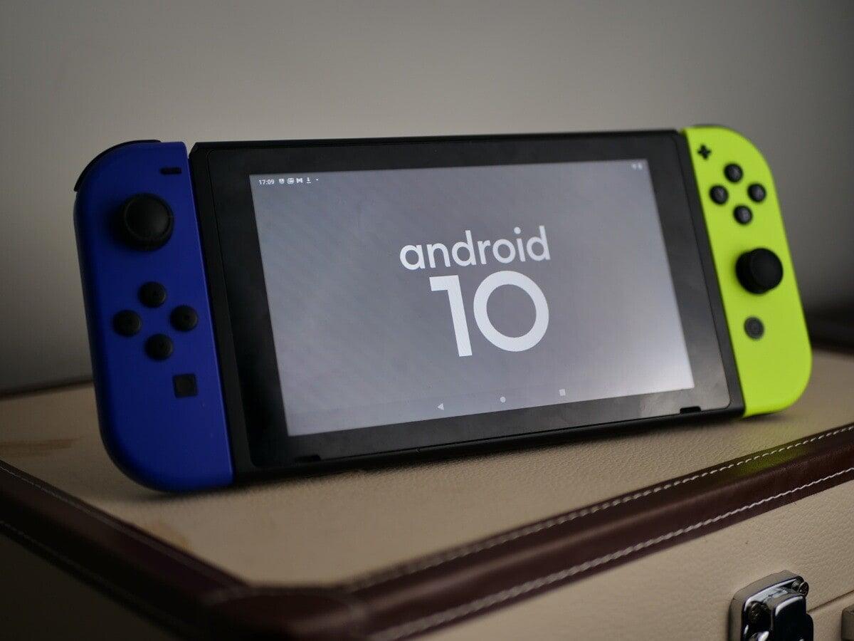 Android arriva (in maniera non ufficiale) su Nintendo Switch grazie a LineageOS 17.1
