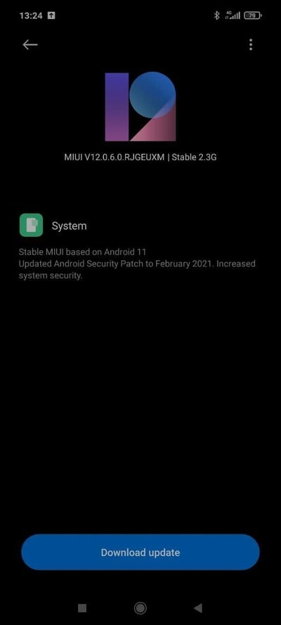 POCO-X3-NFC-Android-11-MIUI-12-OTA