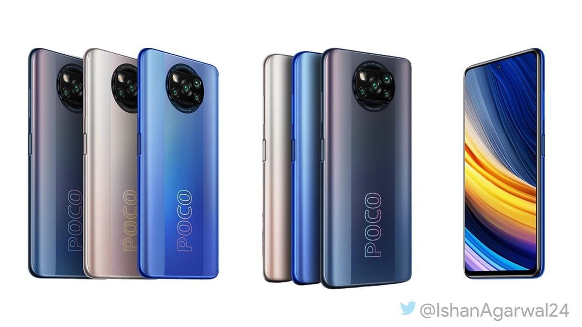 POCO X3 Pro mostrato in render: colta somiglianza con uno smartphone già visto! (foto)