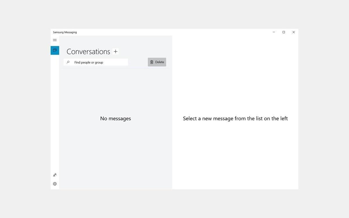 Samsung lancia la sua app di messaggistica su Windows 10: ecco la Samsung Messaging