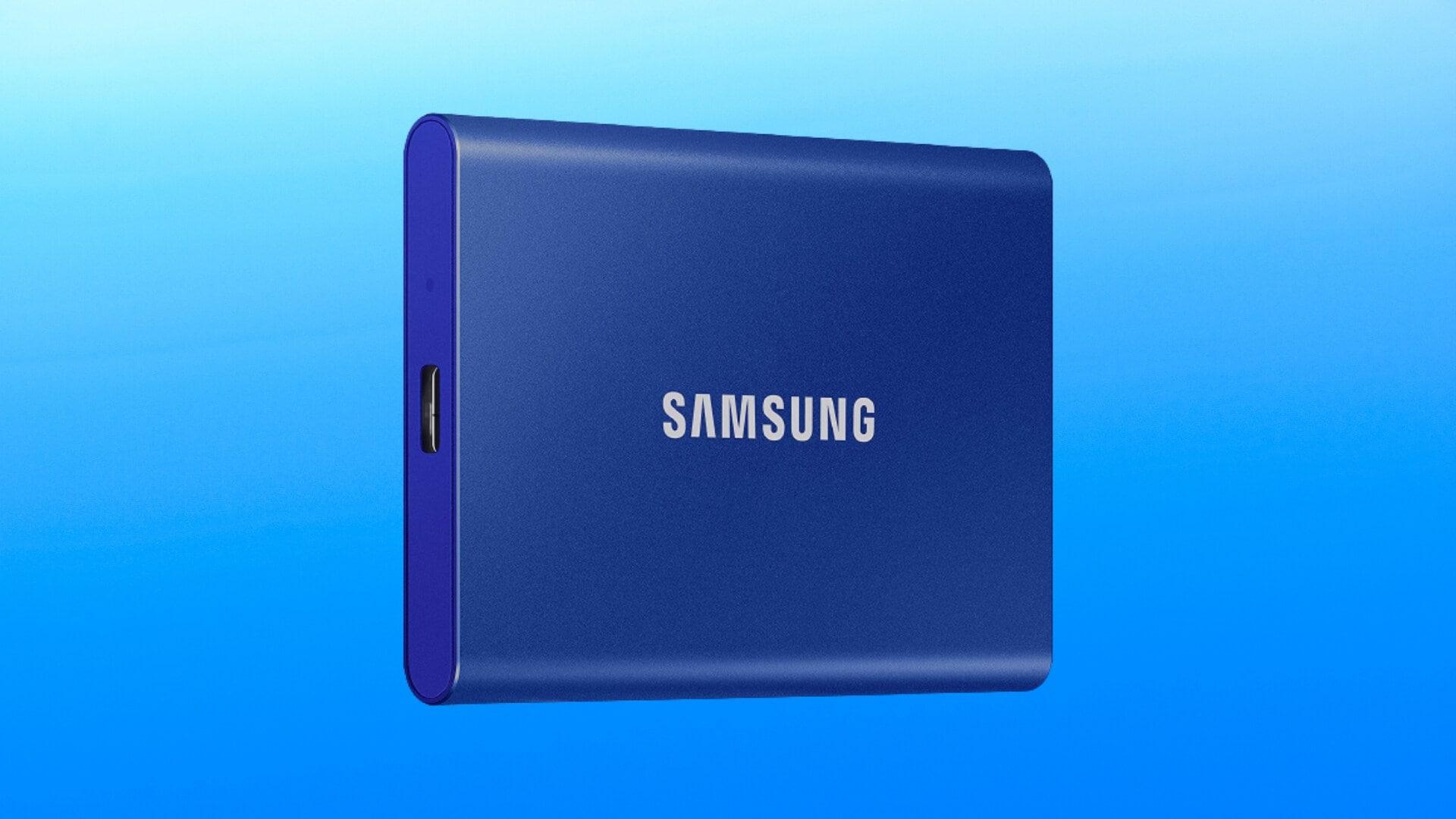 Samsung T7 in SCONTO su Amazon: SSD Esterno di qualità a partire da 89€