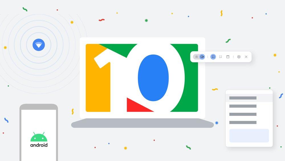 Buon compleanno Chrome OS! Per i 10 anni del sistema operativo, Google annuncia le novità in arrivo