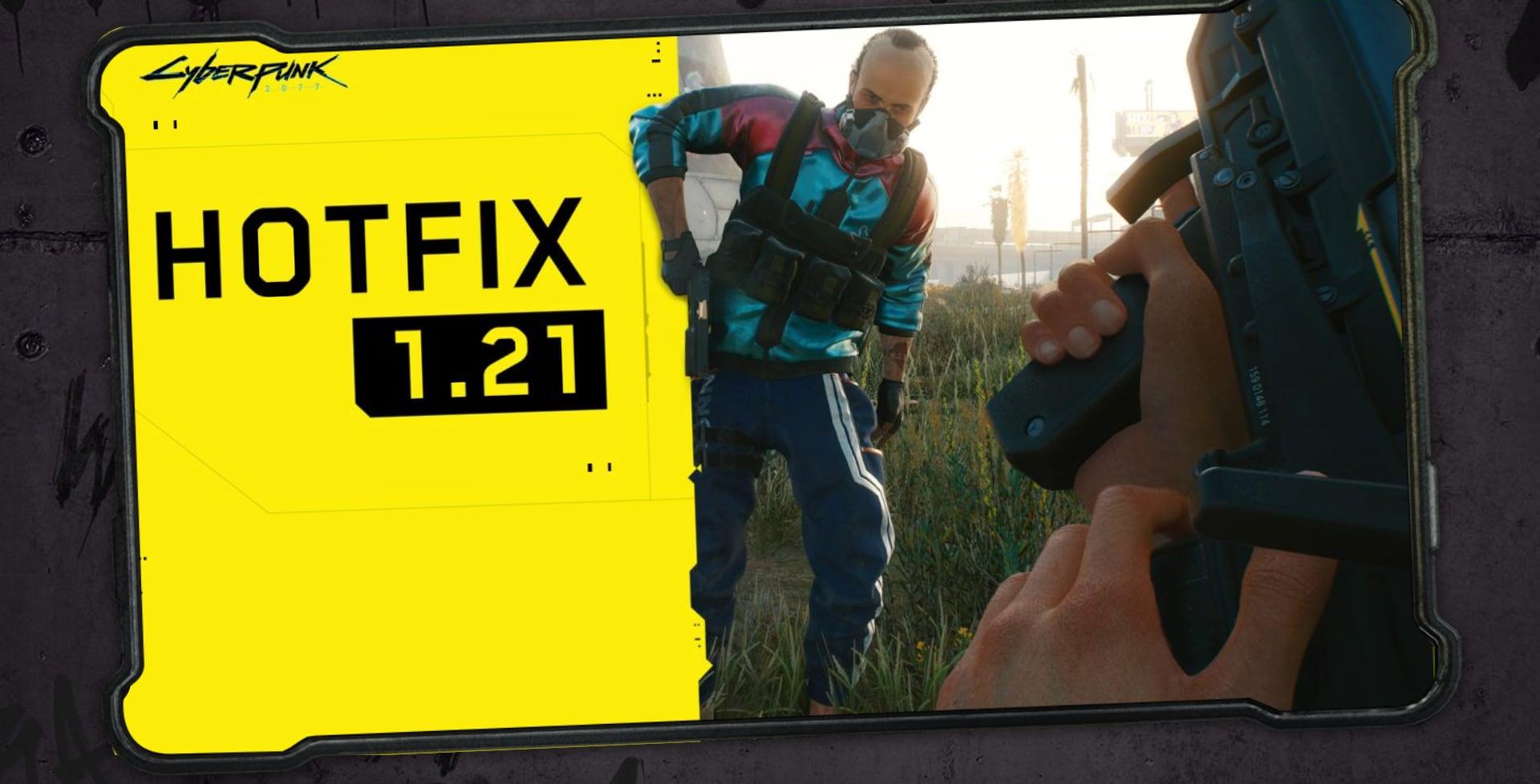Cyberpunk 2077 riceve l'hotfix 1.21 che apporta vari miglioramenti e correzioni