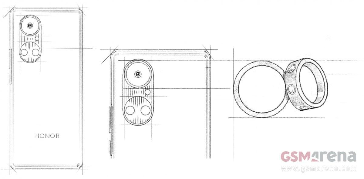 Honor Serie 50 arriverà a maggio e avrà un comparto fotografico posteriore a doppio anello (foto)