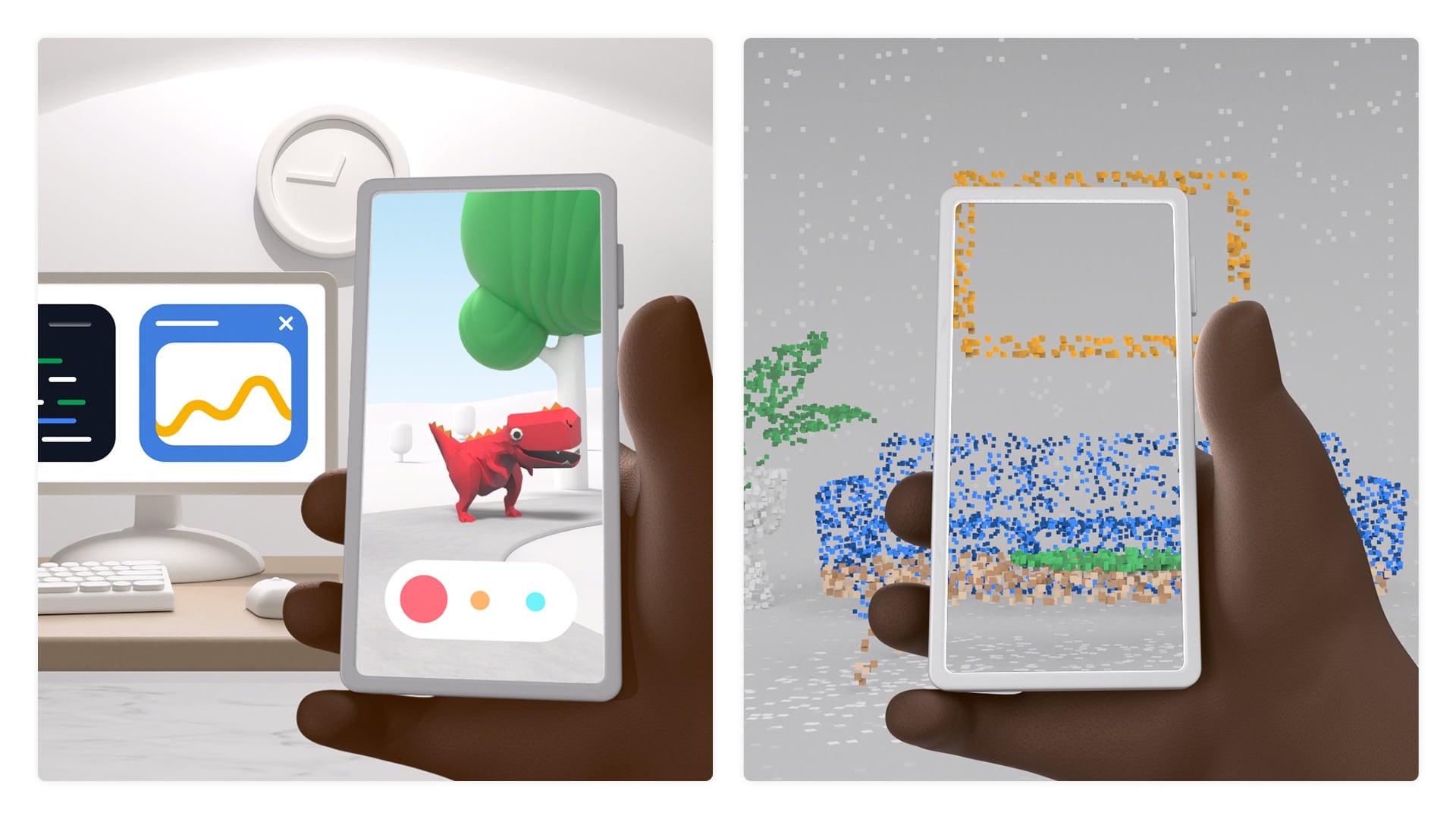 Google presenta il nuovo ARCore: ecco le novità che faranno felici gli sviluppatori (foto)