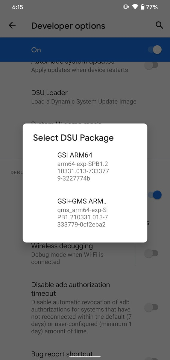 dsu loader android 11
