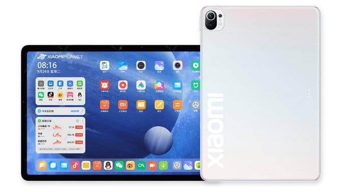 Xiaomi Mi Pad 5 si avvicina: spunta un render e conferme su display e CPU (foto)