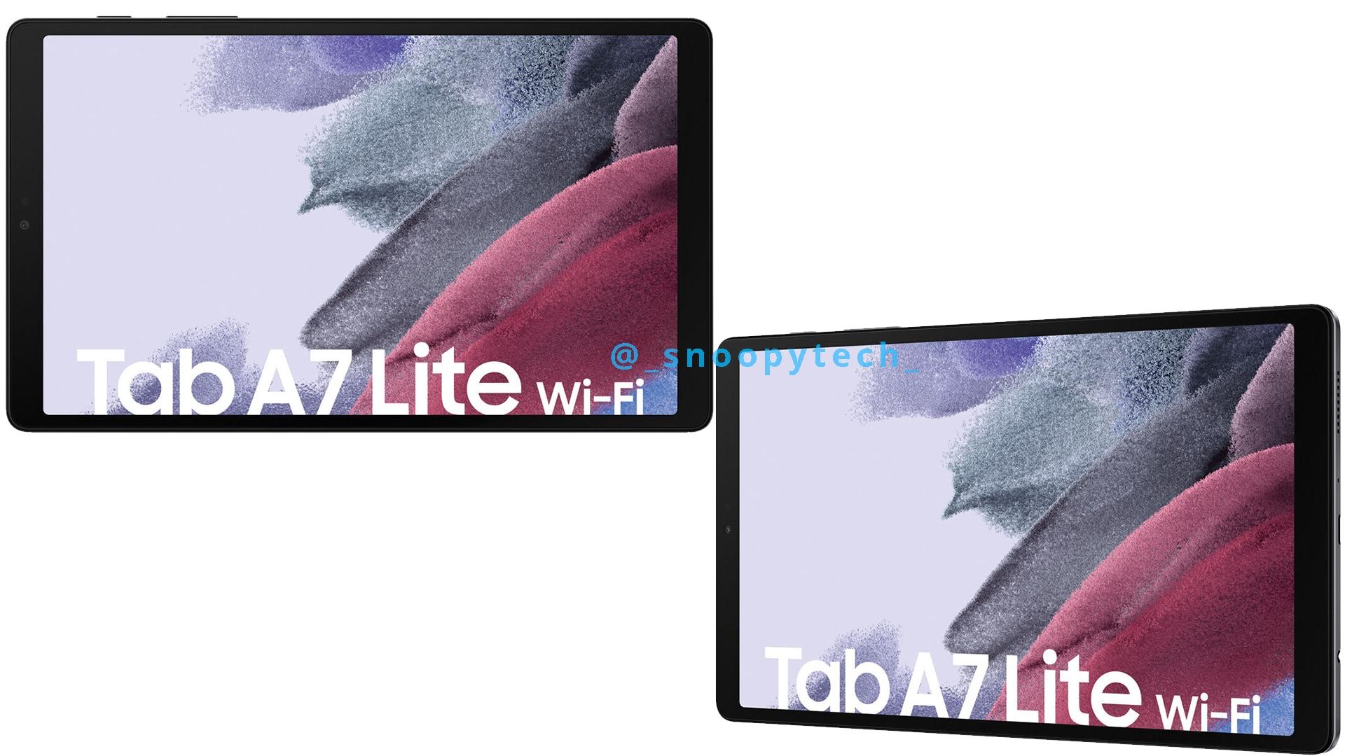 Galaxy Tab A7 Lite: trapela la scheda tecnica, in arrivo a meno di 150€ (foto)