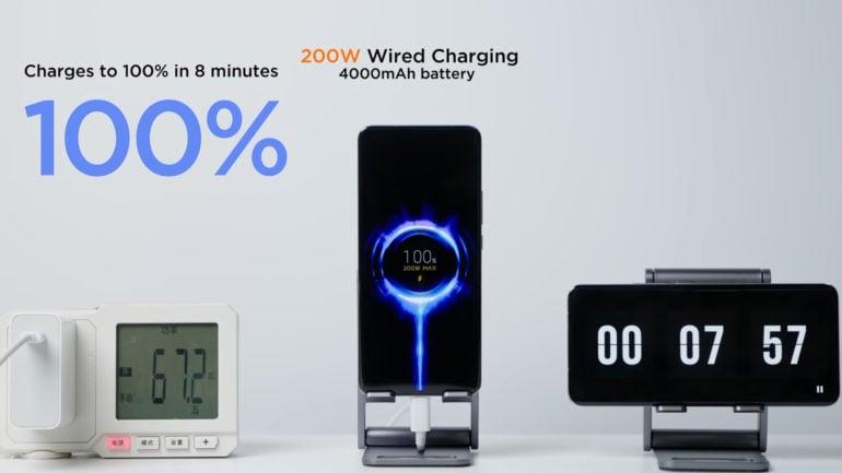 Xiaomi e la ricarica rapida a 200W: il degrado della batteria non è poi così male