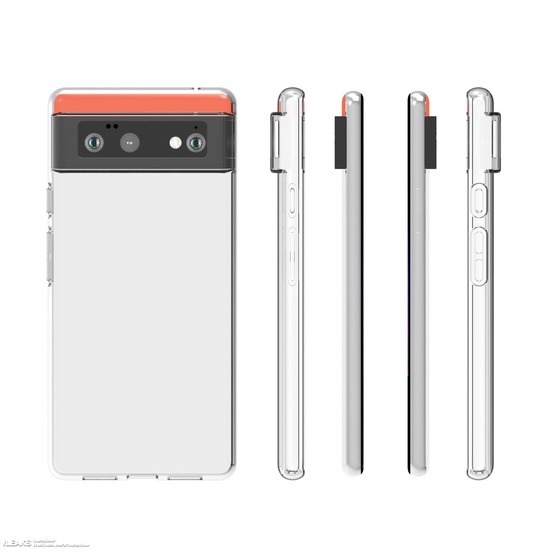 Le cover protettive per Google Pixel 6 confermano il design già emerso di questo smartphone (foto) (aggiornato)
